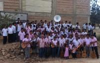 La Fanfare et la classe de guitare réunies