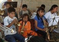 Mariana, 7 ans, la cadette de la Banda
