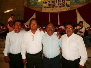quatre professeurs mexicains...